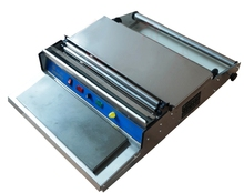 Cling film Tray manual wrapping sealer , Manual tray sealing machine