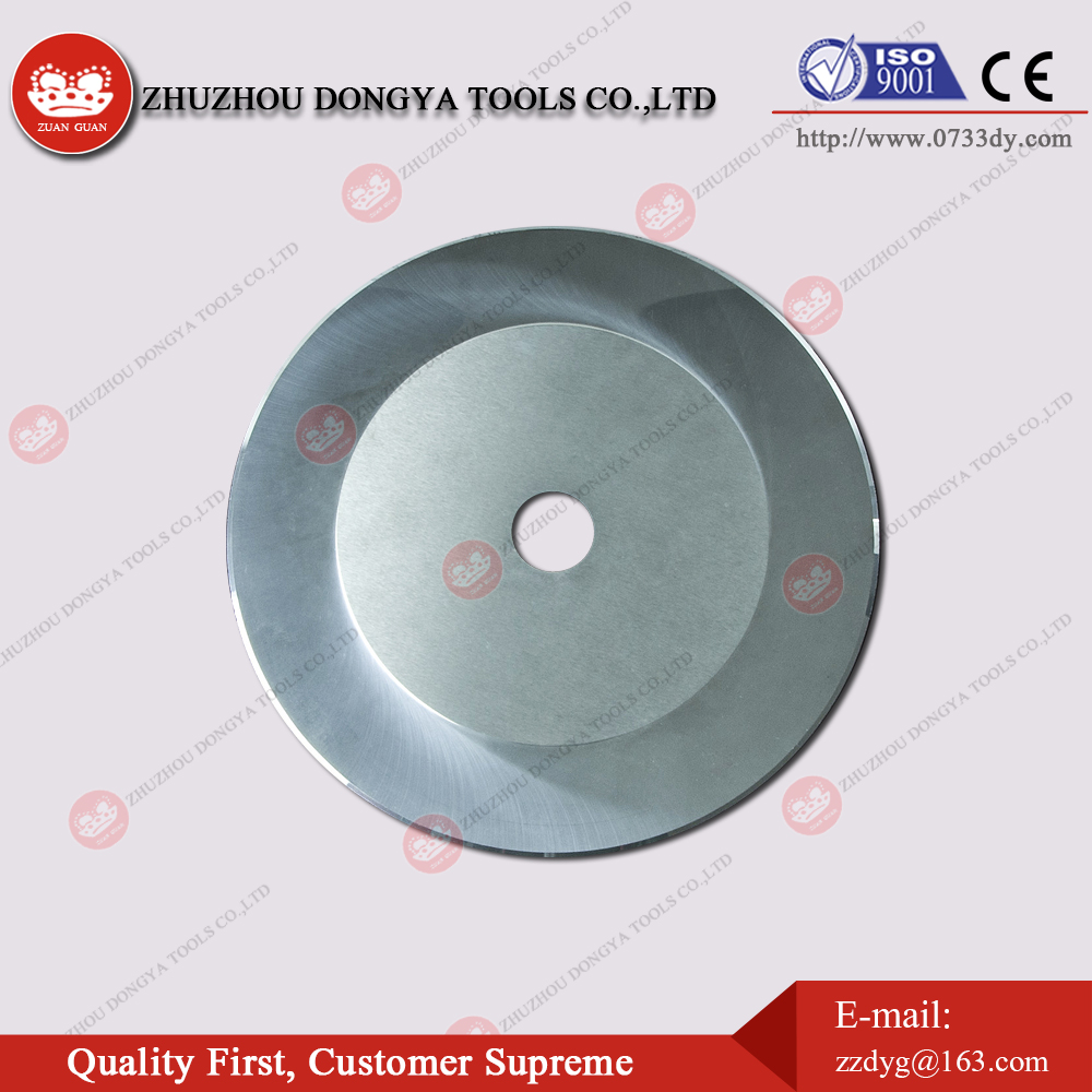 Tungsten carbide circular cutting tools for cutting PCB lead foot