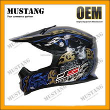 Helmet for motorcicles FLIP UP full face helmet with double visor motorcycle helmet gloss color