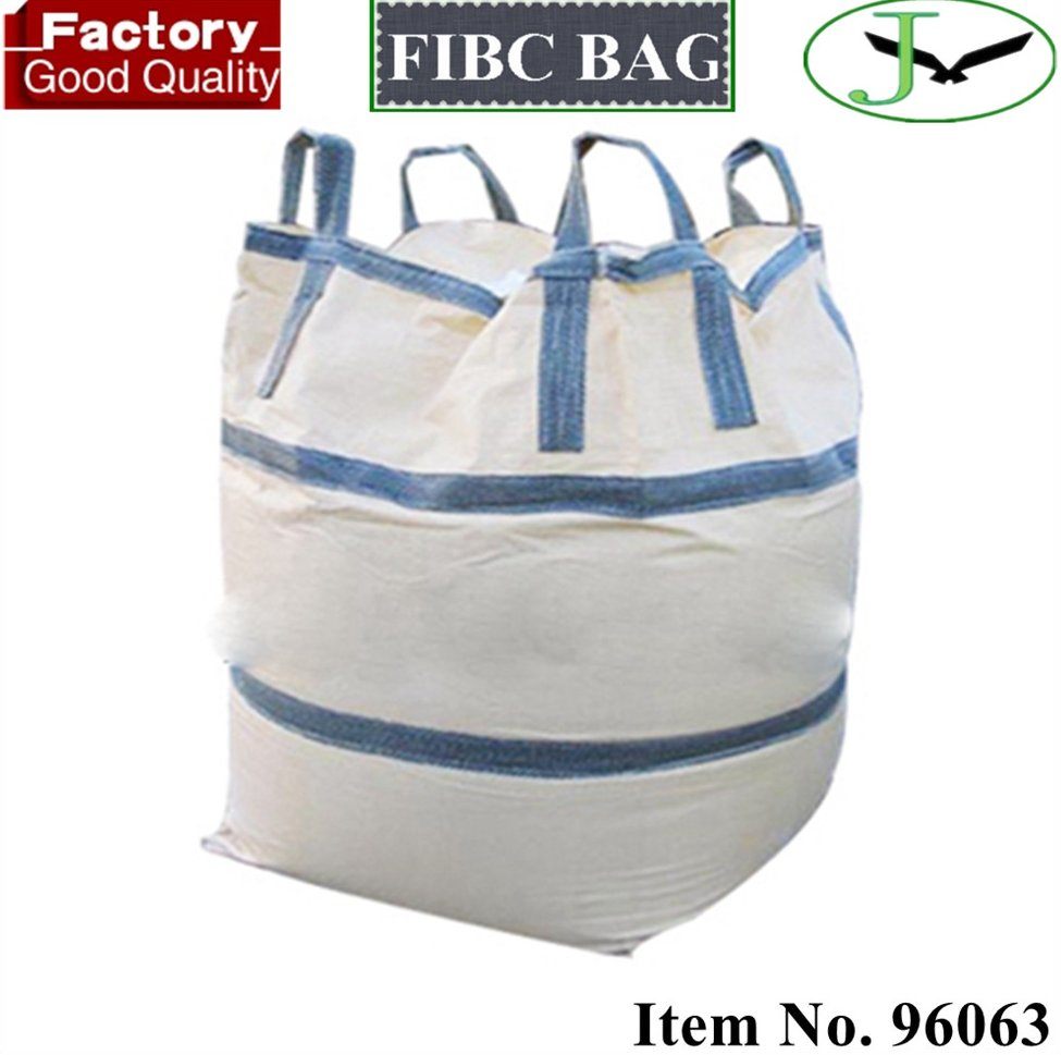 from China shandong food graded pp woven bulk bag big grain bags plastic