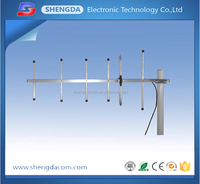 High gain 9dbi CDMA450MHz outdoor omni directional yagi antenna with SMA-male connector