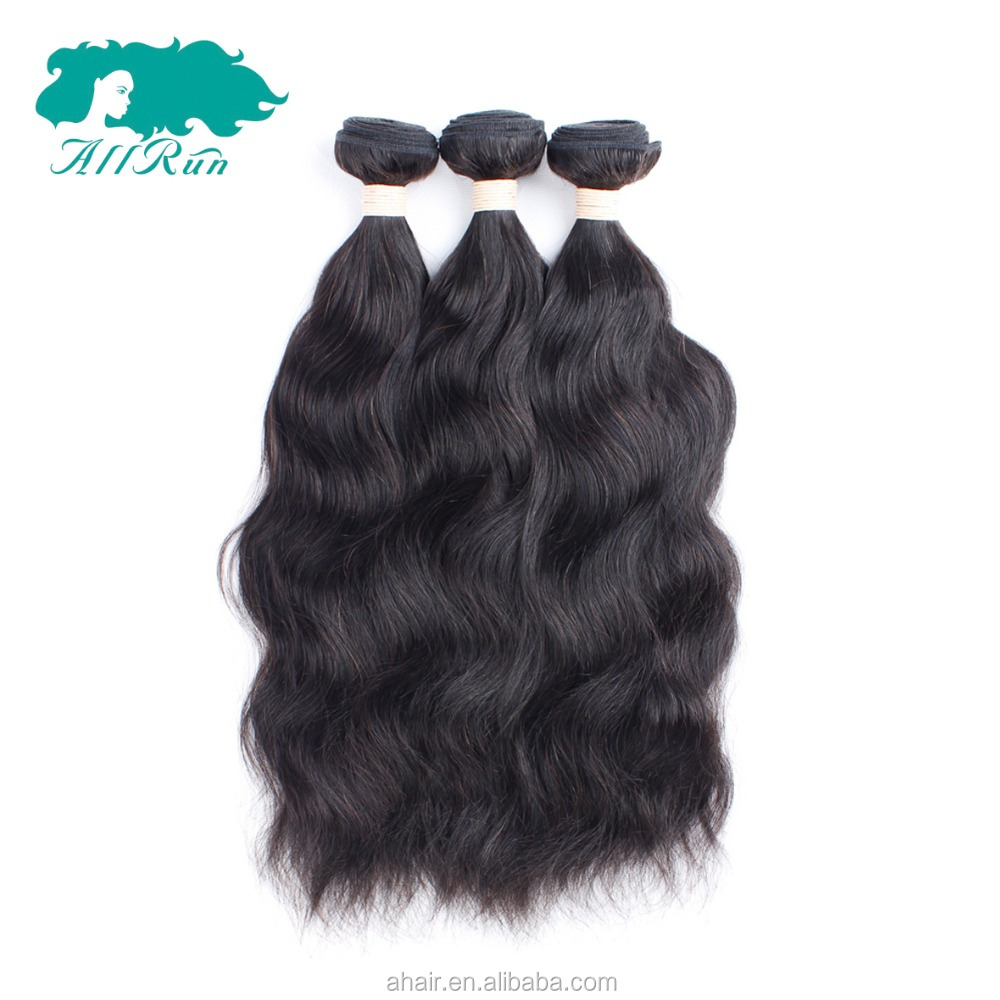 8A grade Sexy Formula Hair natural wave, 100% unprocessed real human hair weave, virgin hair weave from Xuchang Allrun