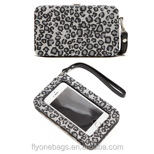 touch the screen smart phone wristlet wallet