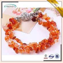 New coming good quality natural stone gemstone bracelets
