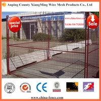 Canada standard durable and flexible temporary fencing