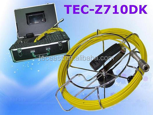 Electronic Video Pipe Inspection Camera usb drain inspection camera TEC-Z710Dk