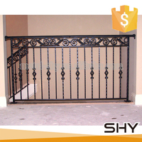 Outdoor Used Antique Decorative Wrought Iron Balcony Railing Designs