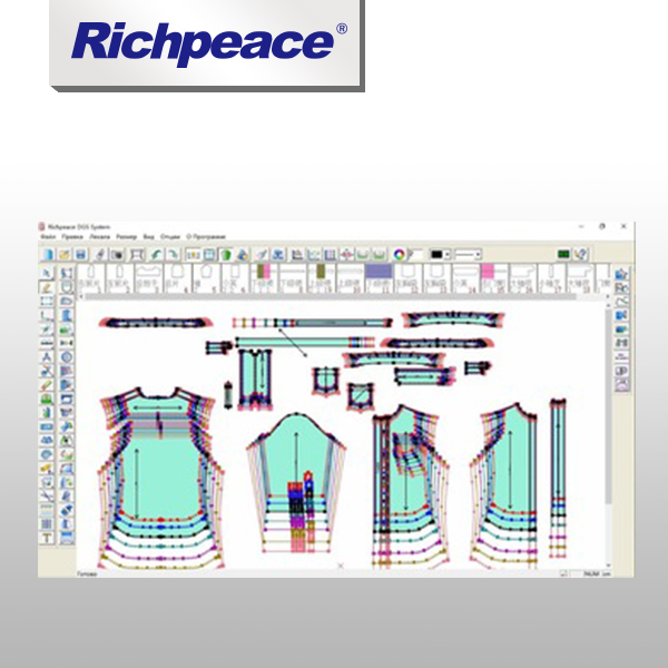 Richpeace Fashion Design Garment Pattern Design CAD Software