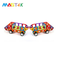 Preschool 102pcs intellect magnetic blocks toys plastic educational toys for kids