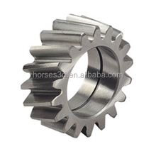 hobbing processing cnc machining steel spur gear for various machines