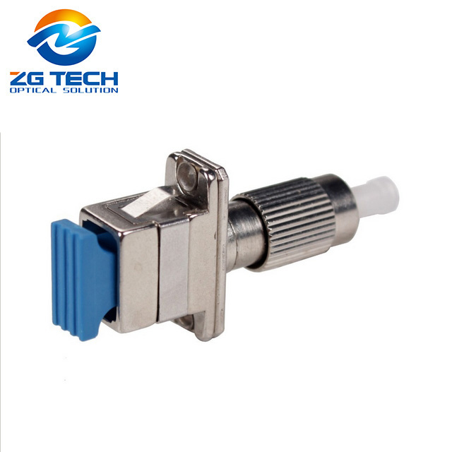 SC/PC(male)-FC/PC(Female) singlemode, simplex Hybrid adaptor