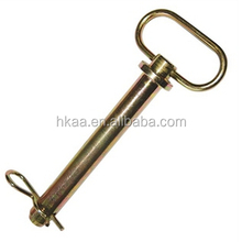 zinc plated stainless steel cotter pin bolt,locking cotter pin safety swivel pin