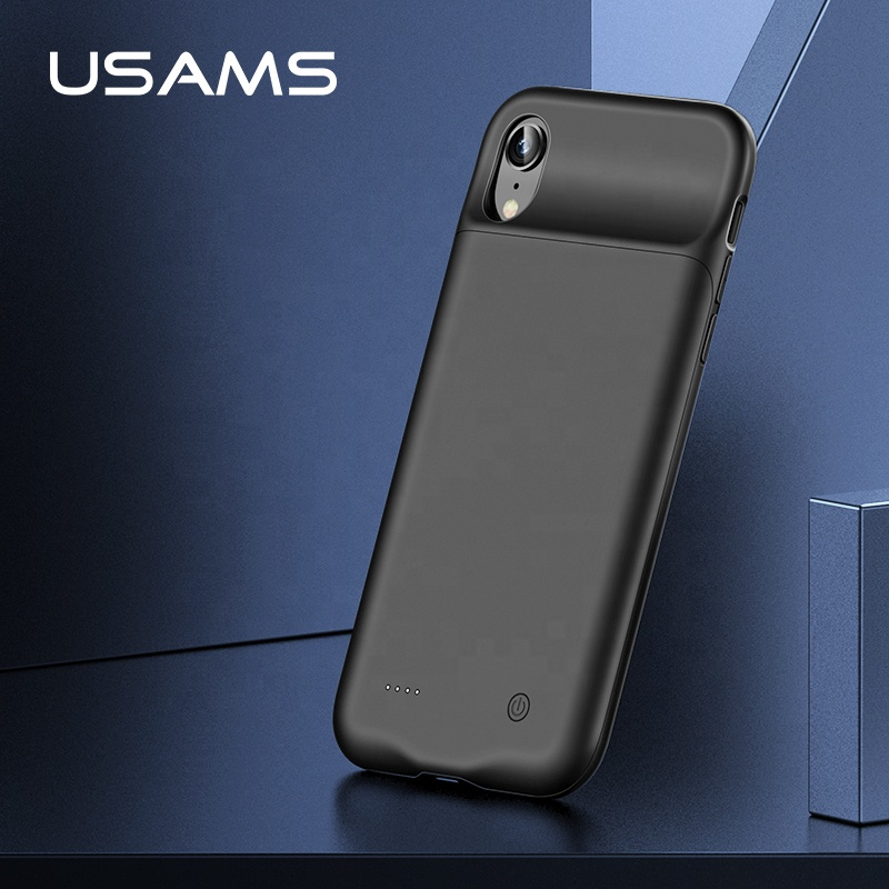 USAMS CD68 promotional gift consumer <strong>electronics</strong> slim design 4000 mah travel battery case for iphone x