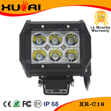 Universal,Two Rows Spot/flood CreeLed Light Bar 18w Led Off Road Light Led Work Light