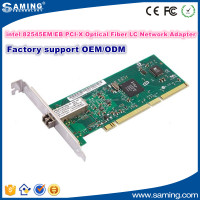 intel 82545EM/EB PCI-X Optical Fiber LC Network Card Adapter