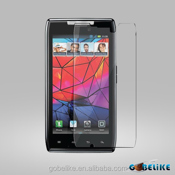 Manufacturer Price 100% Bubble Free screen protector oem/odm (High Clear) for Motorola Droid RAZR XT91