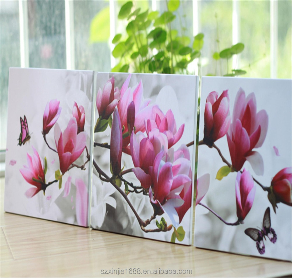 Wholesale Wall Arts Customization Acrylic Photo Print/Canvas Print art painting for Furniture Decor