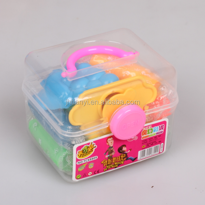 Colorful play dough intelligent clay plasticine