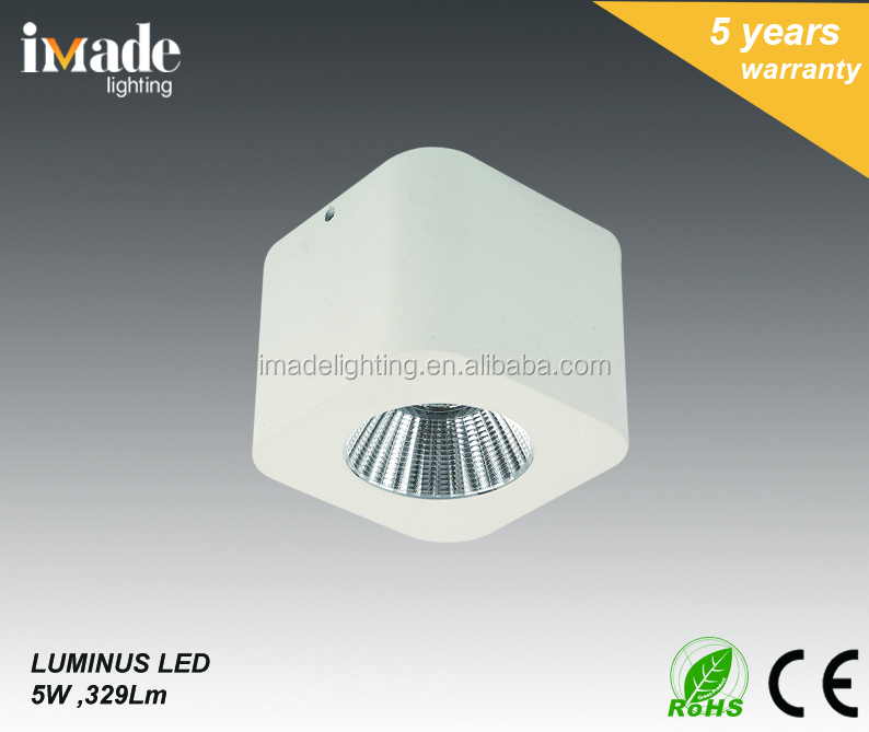 5W Commercial Square Mini Size LED Cabinet light Ceiling light