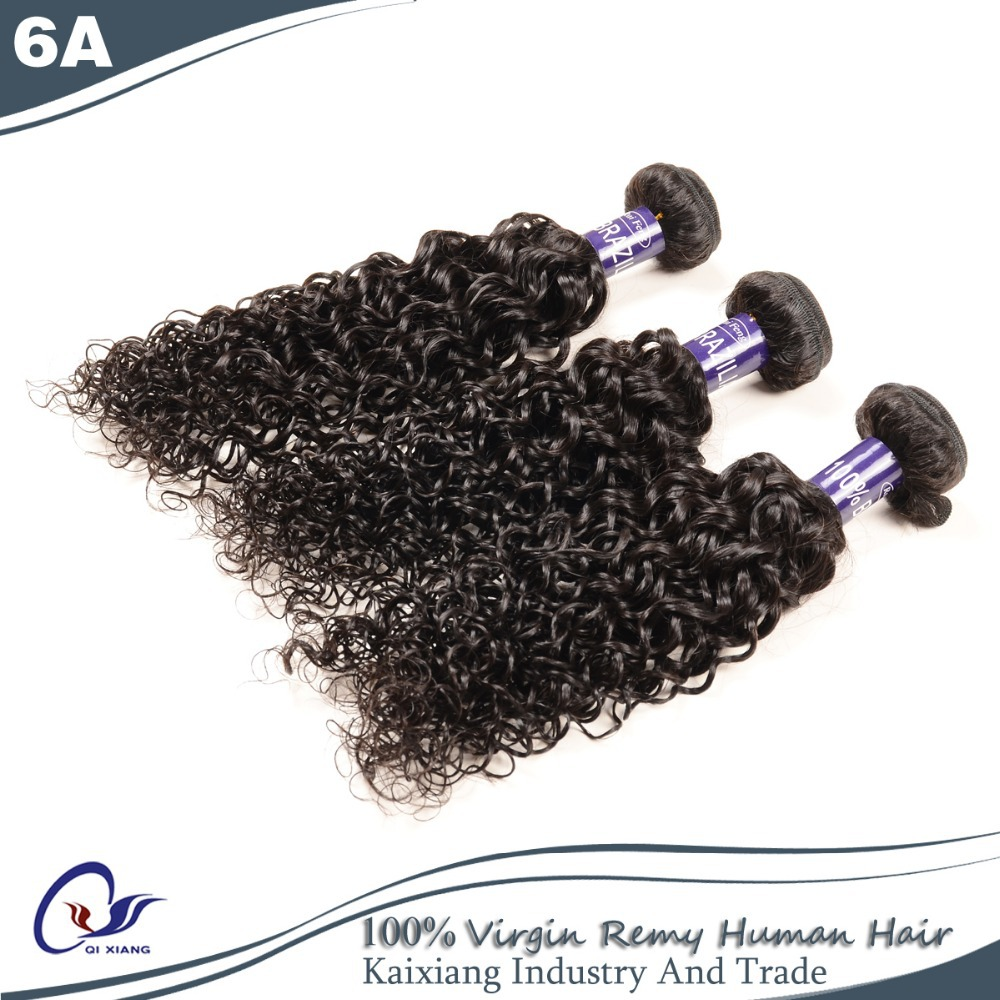 "Curly Hair Cheap Human Hair Remy Brazilian Virgin Hair Jerry Curly 2Pcs/Lot 8""-30"" 6A Grade Can Be Dye Free Shipping"