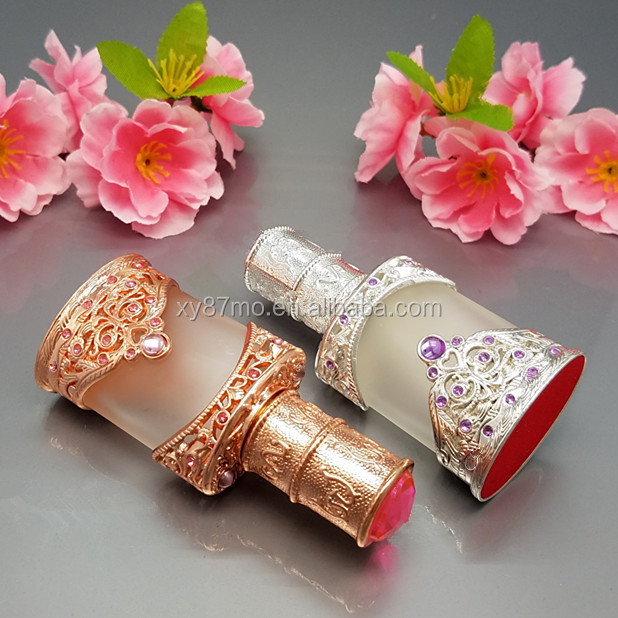 attar bottle for muslim mehndi bottle on beautiful metal cover