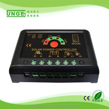 12/24V PWM Solar Controller 10A With CE RoHS ISO9001