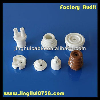 Ceramic lamp end fitting
