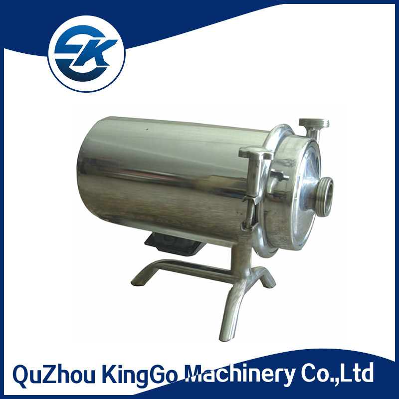 Stainless steel SS304 centrifugal Soybean milk pump for dairy product