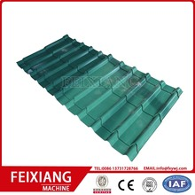 metal pannel glazed tile roof roll forming machine