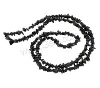 Black Agate Gemstone Chips jewelry beads
