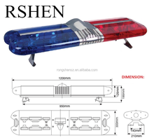High Quality Waterproof Flashing Strobe Warning Used Police Emergency LED Roof Light Bar Red & Bule Light