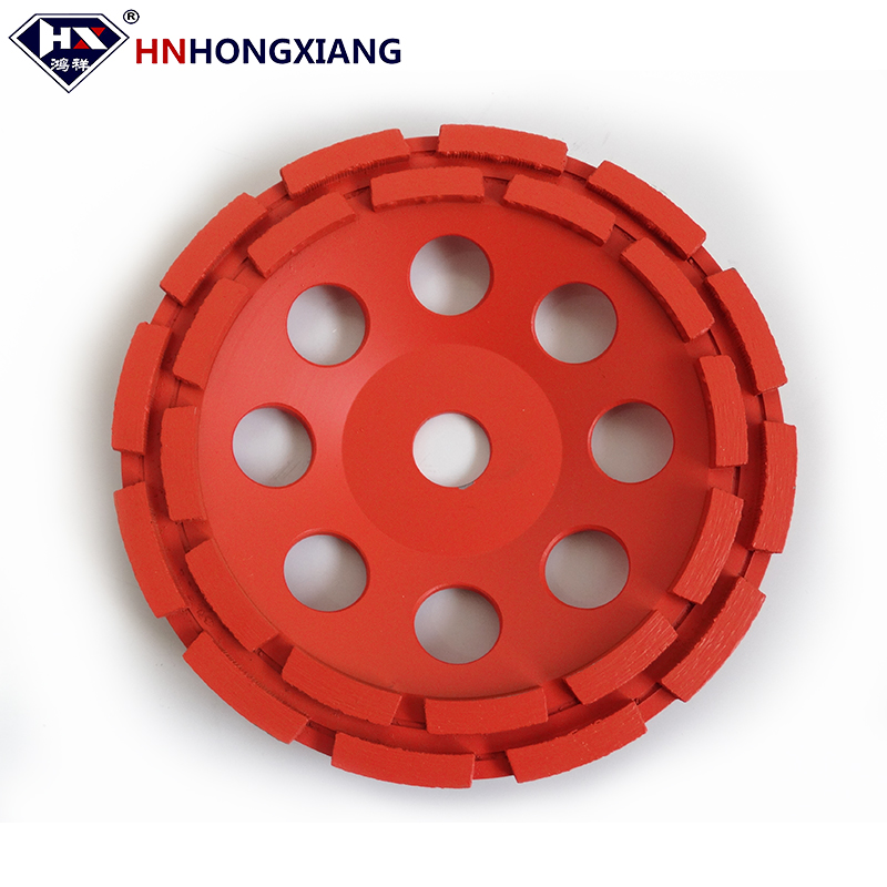 Chinese Made diamond cup grinding wheel for concrete marble and granite