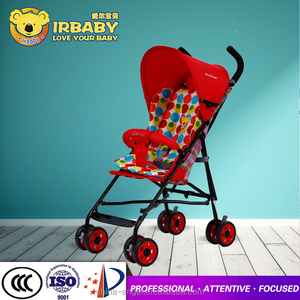 High view travel system baby stroller Rotate 360 degrees 3 in 1 baby stroller big wheel