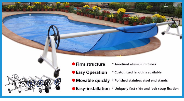extendable pool roller cover stainless pool roller,rocky pool  reel,telescopic wall-mounted swimming pool cover roller, View satinless  pool roller, ...