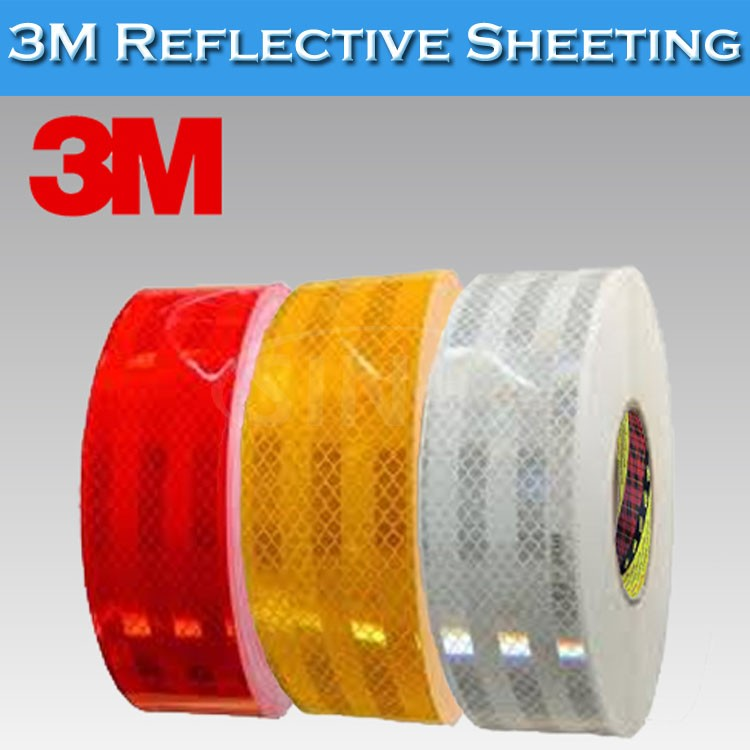 Paypal payment 3M diamond grade Reflective Sticker Sheets