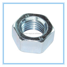 Grade 5 Full Hex Nuts with Zinc Plated