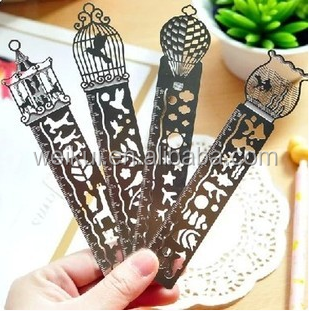 hot selling creative wedding favor gifts different shapes of bookmarks stainless steel <strong>metal</strong>