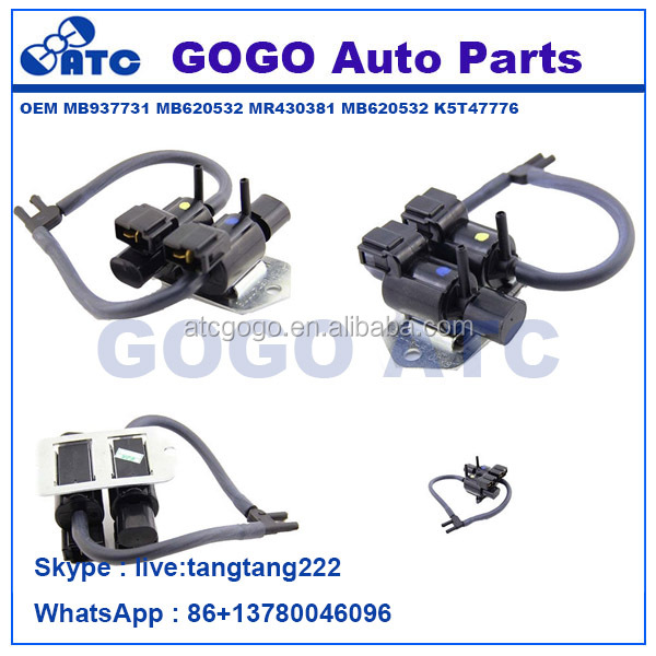 Freewheel <strong>Clutch</strong> Control Solenoid Valve For Mitsubishi Pajero L200 L300 V43 V44 V45 K74T V73 V75 V78 MB937731 MB620532 MR430381