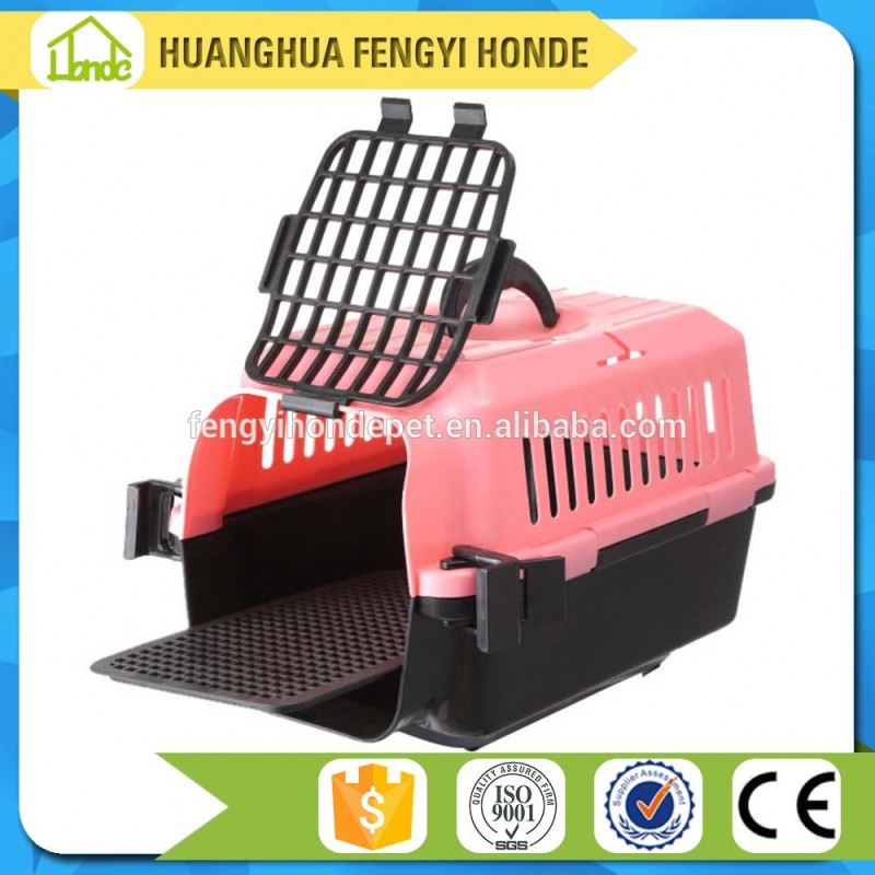 OEM Support China Supplier Best Selling Plastic Pet Cage Travel Dog Carrier