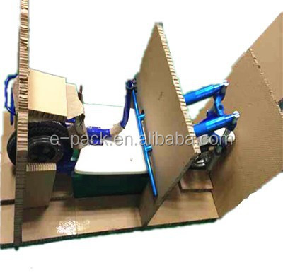 Paper material, light weight honeycomb paper packaging for electronic bike