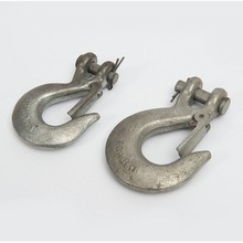 Steel Wire Rope Metal Clevis Hook With Latch For Lifting