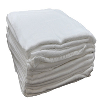 New design 100% cotton White plain towel flour sacks