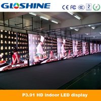 P3 high definition advertising xxx video wall indoor rental LED display
