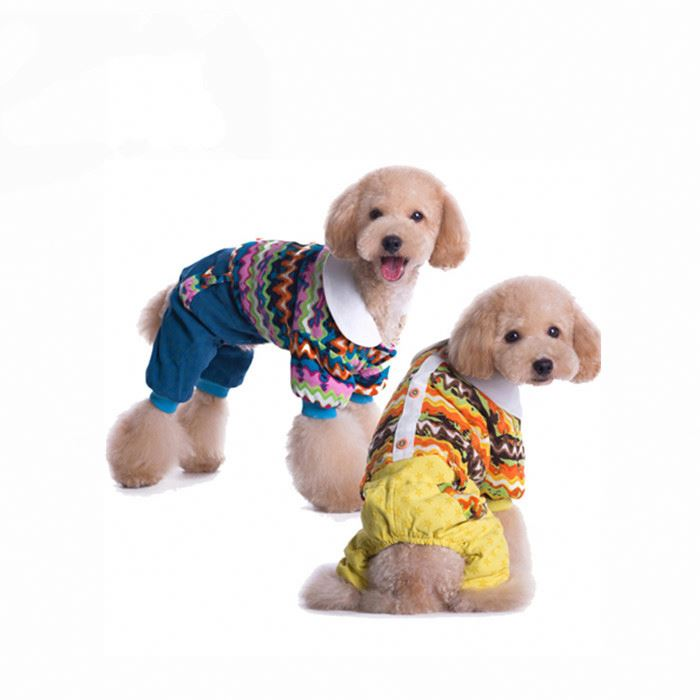 RoblionPet 4 Legs Warm Cute Pet Clothes Dog Clothing