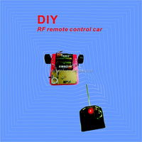 Self assembly learning electronics DIY RC car kit