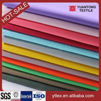 Solid dyed T/C woven 90% polyester 10% cotton fabric