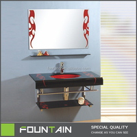 Hangzhou China Made In China Glass Basin Vessel Sink Bathroom Vanity