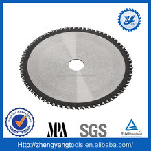 carbide tipped circular stainless steel aluminum profile saw blade for universal use