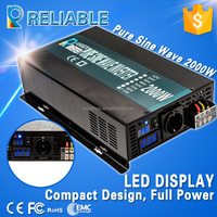 top quality 24v to 220v full power 2000w peak power 4000w home solar power generation system pure sine wave inverter