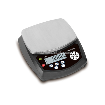 Effective Easy to operate digital piece count scales for weighing fruit 3kg,6kg,15kg 30kg
